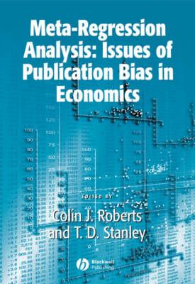 Meta-Regression Analysis: Issues of Publication Bias in Economics - Surveys of Recent Research in Economics (Paperback)