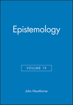 Epistemology - Philosophical Perspectives Annual Volume 19 (Paperback)
