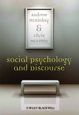 Social Psychology and Discourse (Paperback)