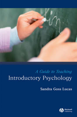 A Guide to Teaching Introductory Psychology - Teaching Psychological Science (Paperback)