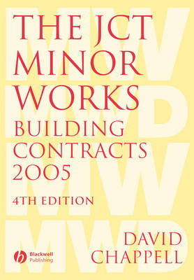 The JCT Minor Works Building Contracts 2005 (Paperback)