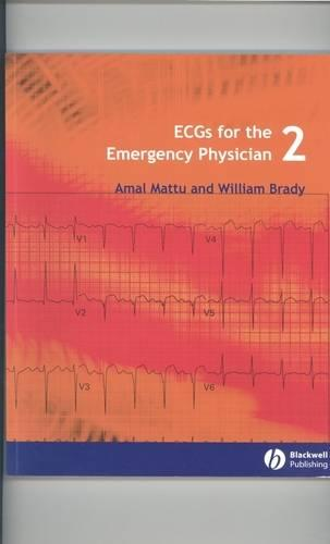 ECGs for the Emergency Physician 2 (Paperback)