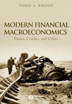Modern Financial Macroeconomics: Panics, Crashes, and Crises (Paperback)