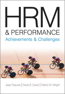 HRM and Performance: Achievements and Challenges (Paperback)