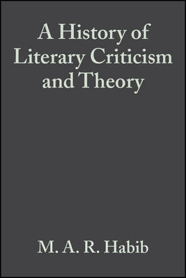 A History of Literary Criticism: From Plato to the Present (Paperback)