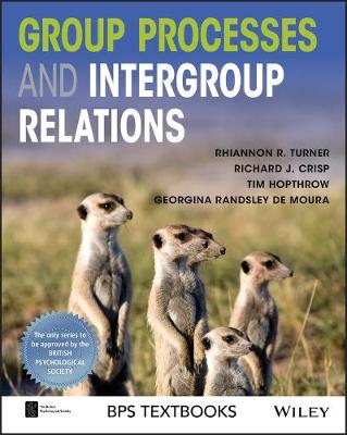 Group Processes and Intergroup Relations - BPS Textbooks in Psychology (Paperback)