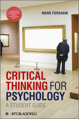 Critical Thinking For Psychology: A Student Guide (Paperback)