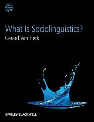 What Is Sociolinguistics? - Linguistics in the World (Hardback)