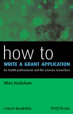 How to Write a Grant Application - How To (Paperback)