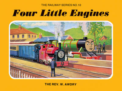 Four Little Engines - Classic Thomas the Tank Engine (Hardback)