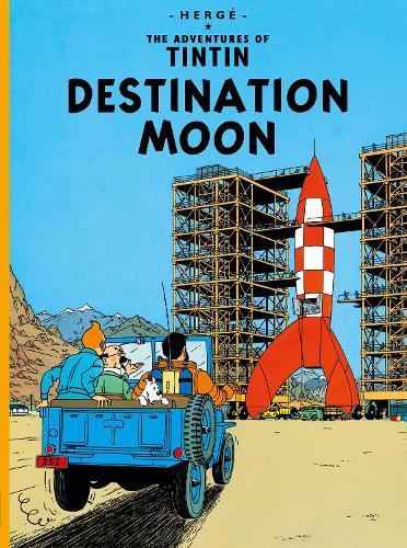 Destination Moon - The Adventures of Tintin (Paperback)