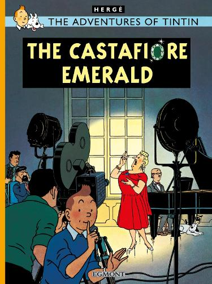 The Castafiore Emerald - The Adventures of Tintin (Hardback)