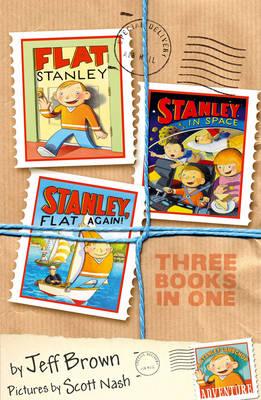 Flat Stanley: Stanley in Space: Stanley, Flat Again! - Flat Stanley (Paperback)