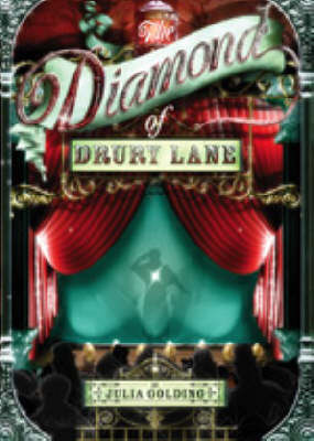 Cover of the book, The Diamond of Drury Lane (Cat Royal, #1).