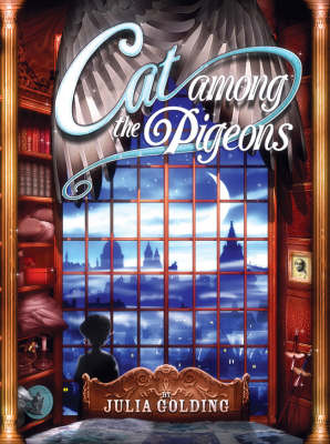 Cover of the book, Cat Among the Pigeons (Cat Royal, #2).