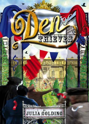 Cover of the book, Den of Thieves (Cat Royal, #3).