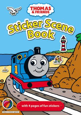 Thomas & Friends: Sticker Scene Book (Paperback)