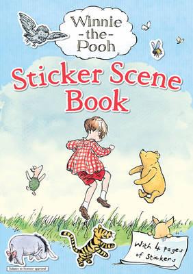 Winnie-The-Pooh: Sticker Scene Book (Paperback)