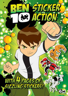 Ben 10: Sticker Action (Paperback)