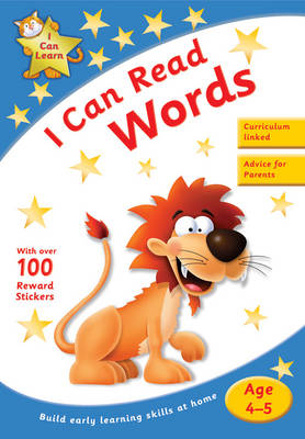 I Can Read Words (Paperback)