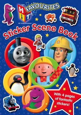HIT Favourites: Sticker Scene Book (Paperback)