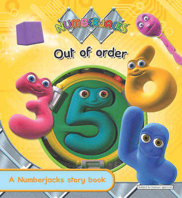 Out of Order - Numberjacks (Paperback)