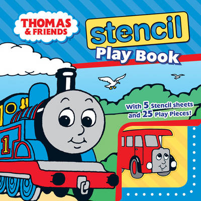 Thomas and Friends Stencil Play Book - Thomas & Friends (Board book)