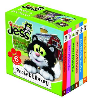 Guess with Jess Pocket Library (Board book)