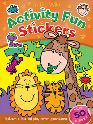 In the Wild Activity Fun Stickers (Paperback)