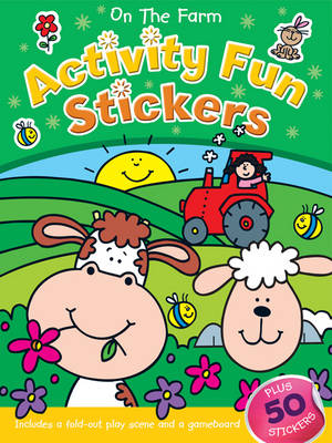 On the Farm Activity Fun Sticker Book (Paperback)