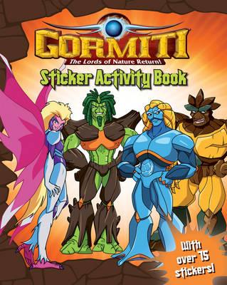 Gormiti: The Lords of Nature Return - Sticker Activity Book (Paperback)