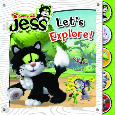 Let's Explore! - Guess with Jess (Board book)