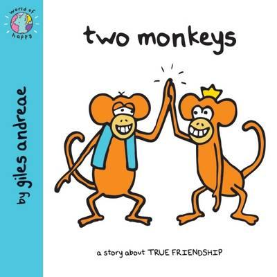 Two Monkeys - World of Happy (Paperback)