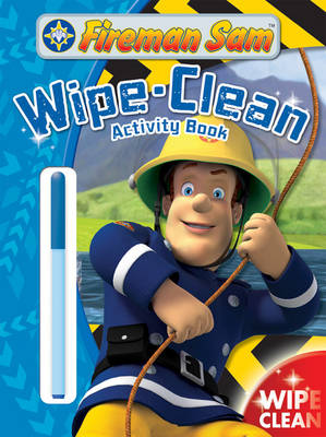 Fireman Sam: Wipe-Clean Activity Book (Paperback)