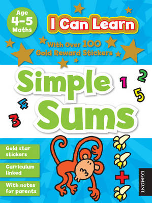 I Can Learn: Simple Sums: Age 4-5 - I Can Learn