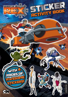 Generator Rex Sticker Activity Book