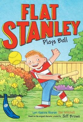 Flat Stanley Plays Ball: Blue Banana - Banana Books (Paperback)