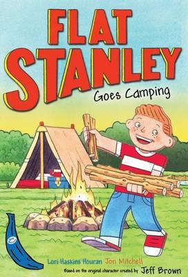 Flat Stanley Goes Camping: Blue Banana - Banana Books (Paperback)
