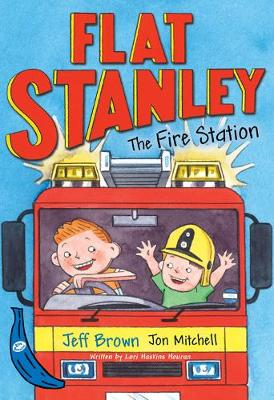 Flat Stanley and the Fire Station: Blue Banana - Banana Books (Paperback)