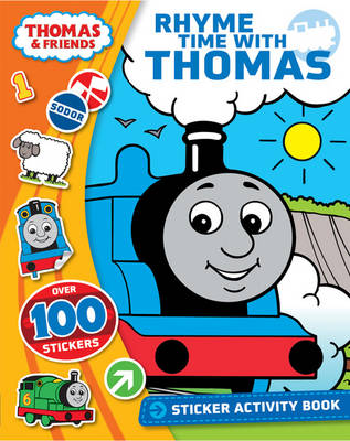 Thomas & Friends Rhyme Time with Thomas Sticker Activity Book (Paperback)