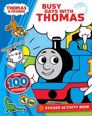 Thomas & Friends Busy Days with Thomas Sticker Book (Paperback)
