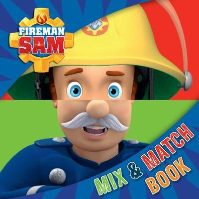 Fireman Sam: Mix and Match Book (Board book)