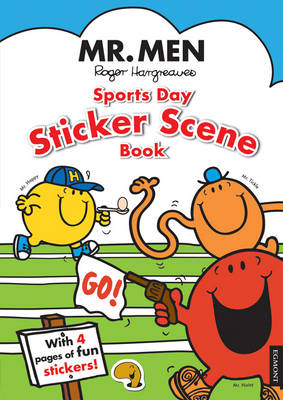 Mr. Men: Sports Day Sticker Scene Book (Paperback)
