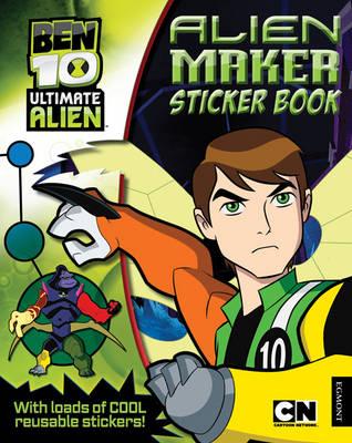 Ben 10 Make Your Own Alien Sticker Activity Book (Paperback)
