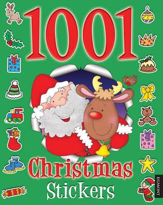 1001 Christmas Stickers - 1001 Stickers Fun Books (Paperback)