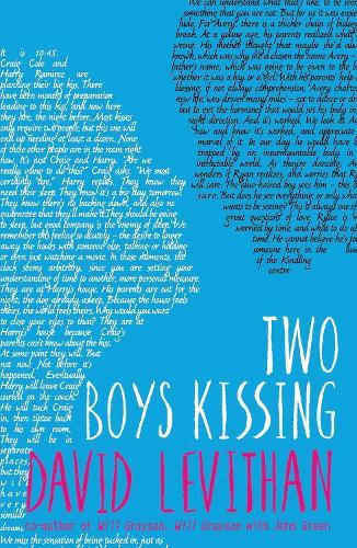 Two Boys Kissing (Paperback)