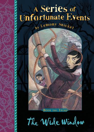 The Wide Window - A Series of Unfortunate Events (Paperback)