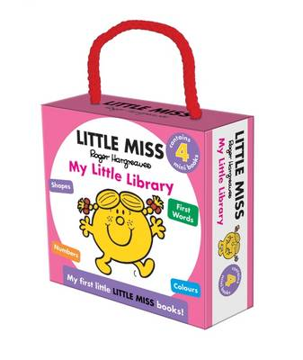 Little Miss My Little Library (Board book)