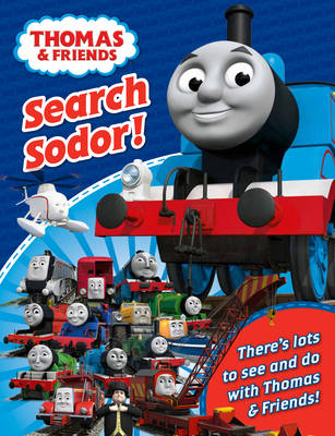 Thomas and Friends Search and Find - Thomas & Friends (Paperback)