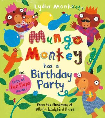 Mungo Monkey has a Birthday Party - Mungo Monkey